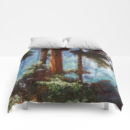 The Forrest Through the Trees Comforters