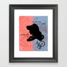 The More There is Of Love Framed Art Print