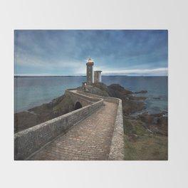Lighthouse Throw Blanket