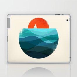 Deep blue ocean Laptop & iPad Skin