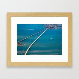7-Mile Sky Framed Art Print