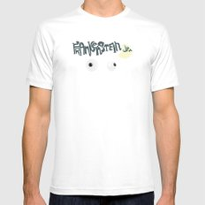 Young Frankenstein White MEDIUM Mens Fitted Tee