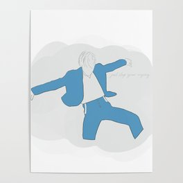 just stop your crying  Poster
