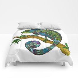 Tangled Chameleon Comforters