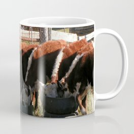 All Lined Up. Coffee Mug