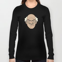 Faces of Breaking Bad: Hector Salamanca Long Sleeve T-shirt