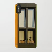 library iPhone & iPod Cases featuring Library by @lauritadas