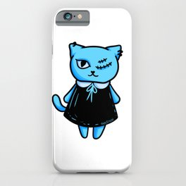 Cat Gothic occult witch girl gift iPhone Case