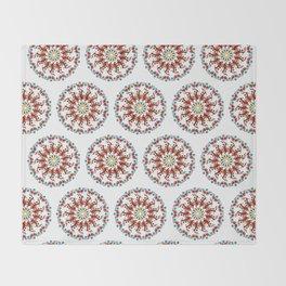 Hand drawn Mandala design Throw Blanket