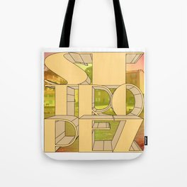 St. Tropez, jetset holidayplace. Tote Bag