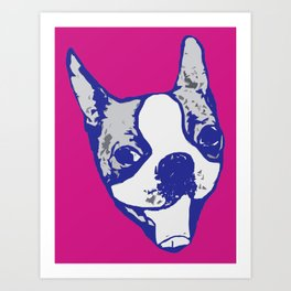 Ro Ro fetch 1 Art Print