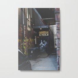 Alleyway: Kensington Metal Print