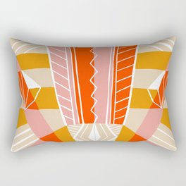 salida, woven rug pattern Rectangular Pillow