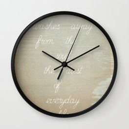 Picasso says Wall Clock