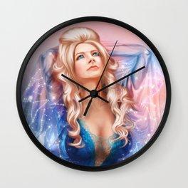 Evening light spirit Wall Clock
