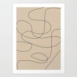 Abstract Shapes VI Art Print