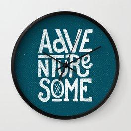 Adventuresome Wall Clock