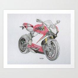 Italian Rocket Art Print