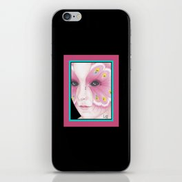 Butterfly Girl #1 iPhone Skin