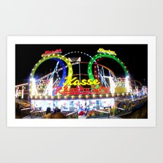 amusement II. Art Print