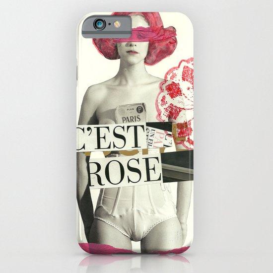 c´est rose iPhone & iPod Case