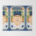 Baseball Blue Pinstripes - Deuce Crackerjack - Jacqui version by boxedspapercrafts