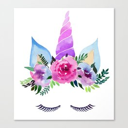 Unicorn Horn Canvas Print