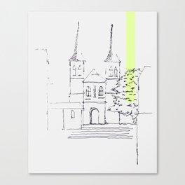 kirche Canvas Print