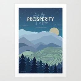 Prosperity Night Art Print