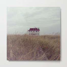 Red House on The Cape Metal Print