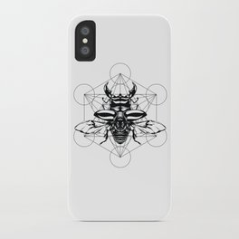 Sacred Scarab iPhone Case
