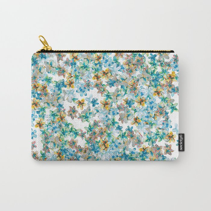 Little Flowers For You Carry-All Pouch