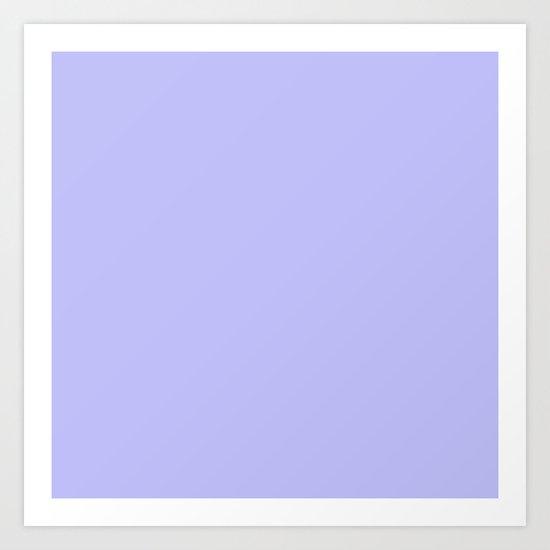 Bluish Purplish Art Print