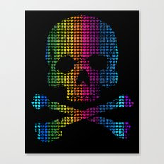 Deadly in Love with Colors Canvas Print