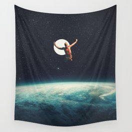 Returning to Earth with a will to Change Wall Tapestry
