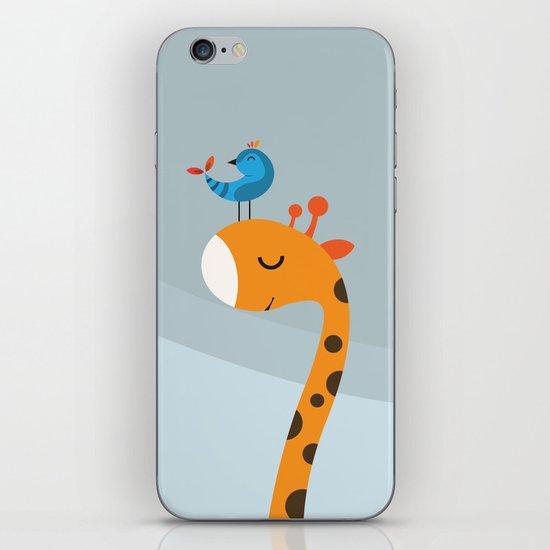 Orange And Blue iPhone & iPod Skin