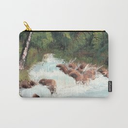 Woodland Waterfall Carry-All Pouch