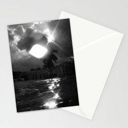 sun & rain Stationery Cards