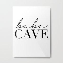 babe cave Metal Print