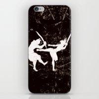 ninja iPhone & iPod Skins featuring Ninja by TrueLoveStory