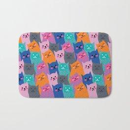 A Bunch of Cats Bath Mat