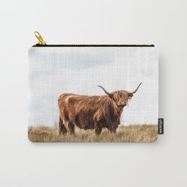 Highland Coo IV Carry-All Pouch
