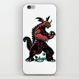 Baragon Kaiju Print FC iPhone Skin