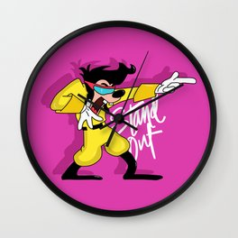 Max Goof Stand Out Wall Clock