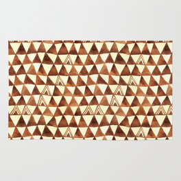 Tribal Triangles Rug