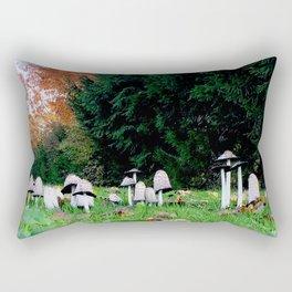Family of Mushrooms Rectangular Pillow