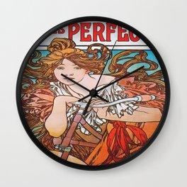 Cycles Perfecta Wall Clock