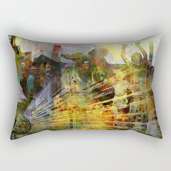 Play with buddies Rectangular Pillow