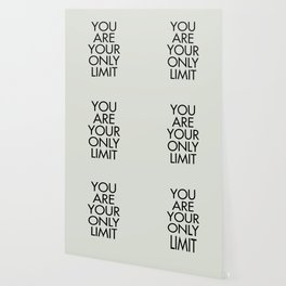 You are your only limit, inspirational quote, motivational signal, mental workout, daily routine Wallpaper