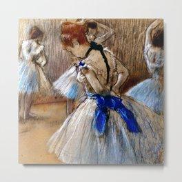 "Edgar Degas ""A study of a dancer"" Metal Print"